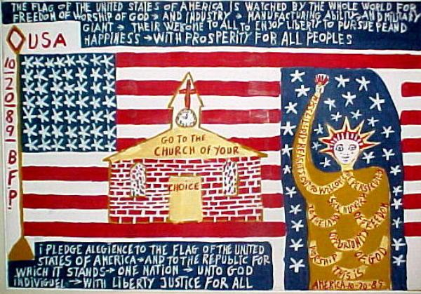 Patriotic Painting