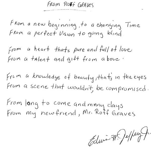 """Poem by Edwin Jeffery Jr """"Time Is"""""""