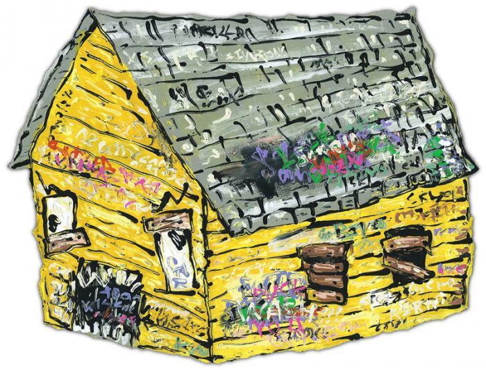 Yellow Crack house